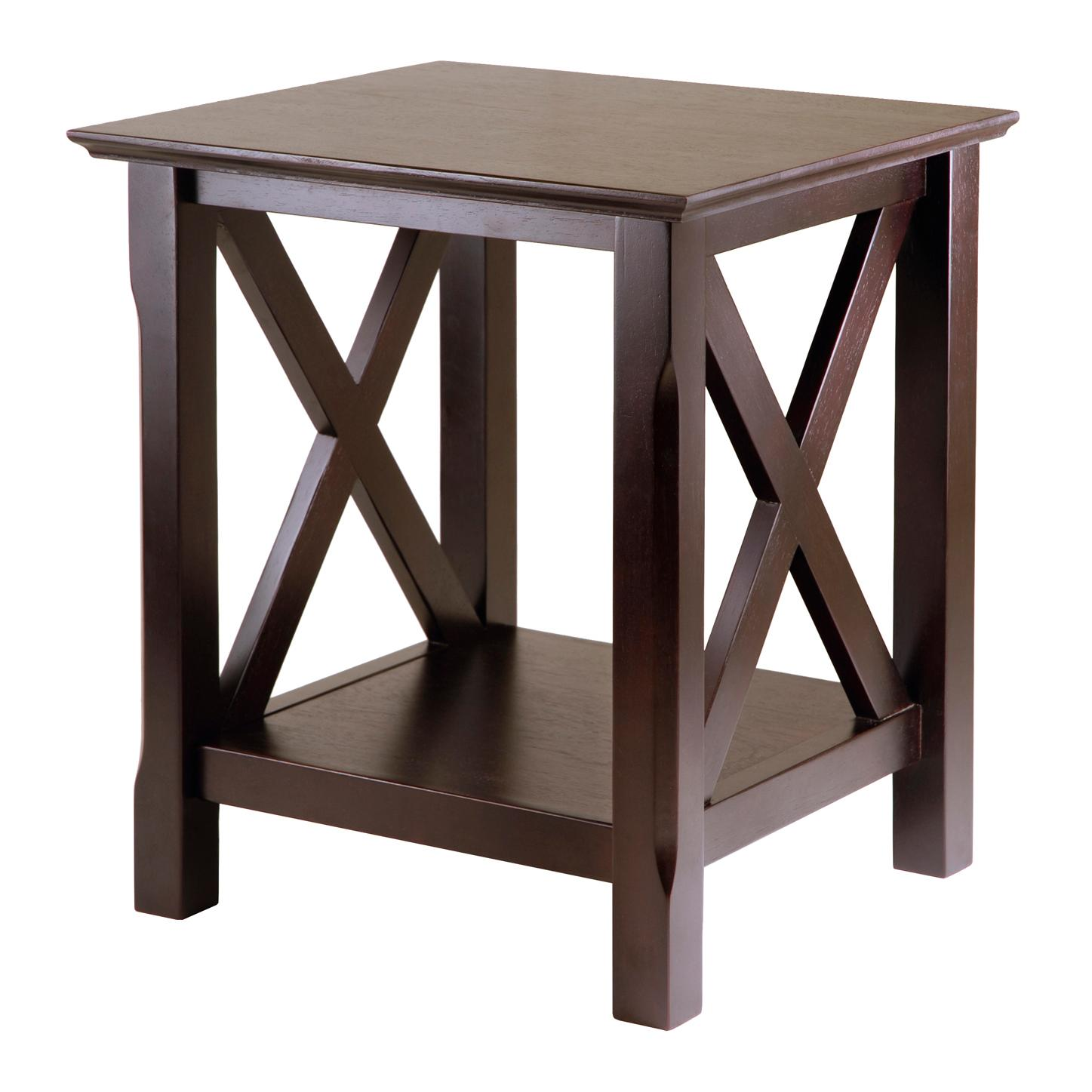 winsome wood xola end table home kitchen from the manufacturer small oval coffee contemporary glass side tables for living room chair nightstand kmart lawn and garden clearance