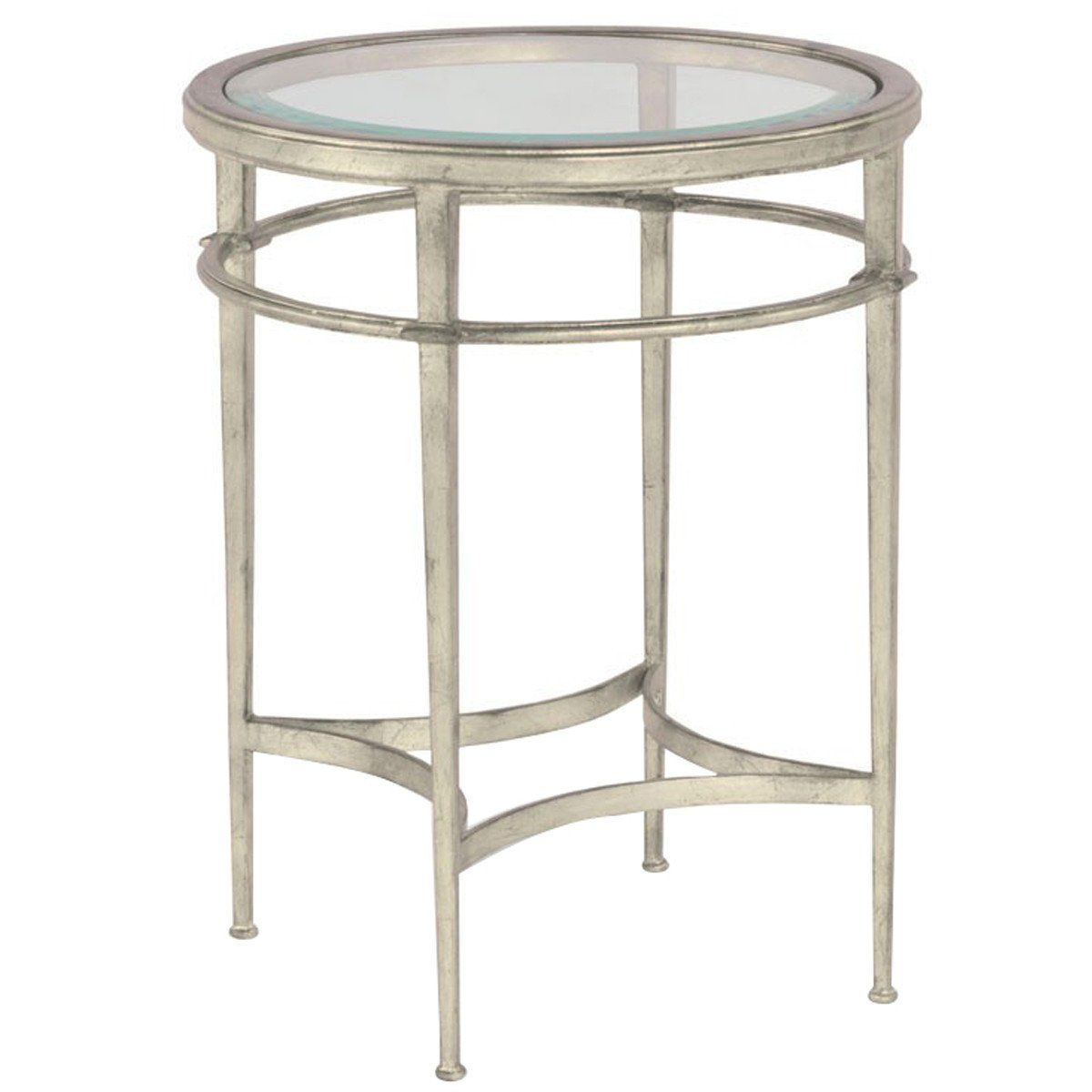 woodbridge furniture glass top madeline round side table products front end tables ashley shipping leather sofa styles liberty cabin fever dining laura room chairs accent winnipeg