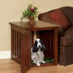 wooden dog crates end table pet crate furniture maple wood etsy king recliner homesense cabinets thomasville bridges bedroom antique coffee wheels tables and side kmart home glass 150x150