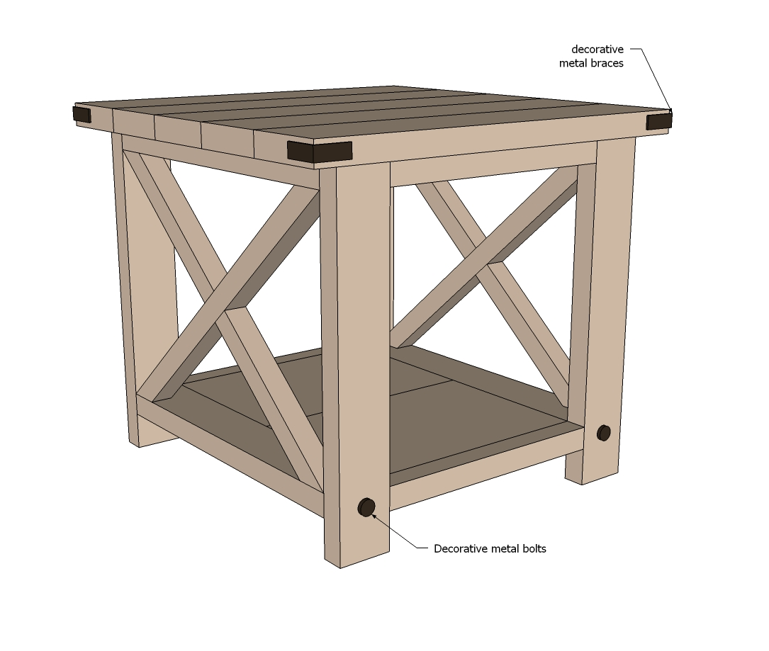 woodworking plans end tables free quick projects table blueprints john vogel pallet outside furniture lamps kmart bedroom row boulder rustic farmhouse coffee target glass side
