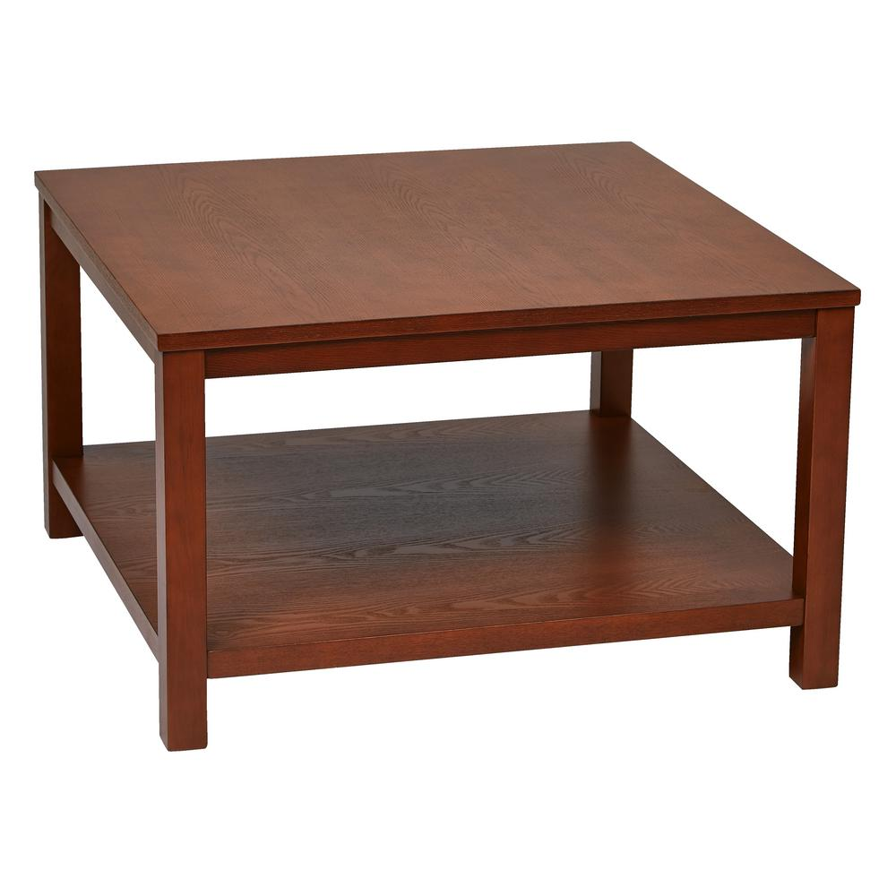work smart merge cherry square coffee table chy wood and veneer finish office star products tables end the vintage universal furniture armoire laura ashley used armchairs big pet