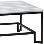 wrought iron coffee table dandelion spell black end hand with finish and olym striped gray marble top acrylic bedside square glass kitchen liberty small umbrella side paper 150x150