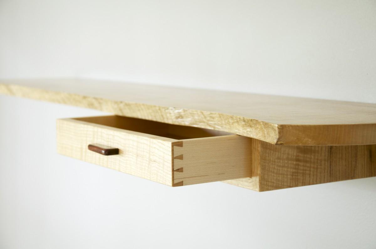 amazing floating shelves with drawers that make your steel creative diy wood wall shelf drawer for walnut media all custom closets corner unit mount wide desktop bookshelf metal