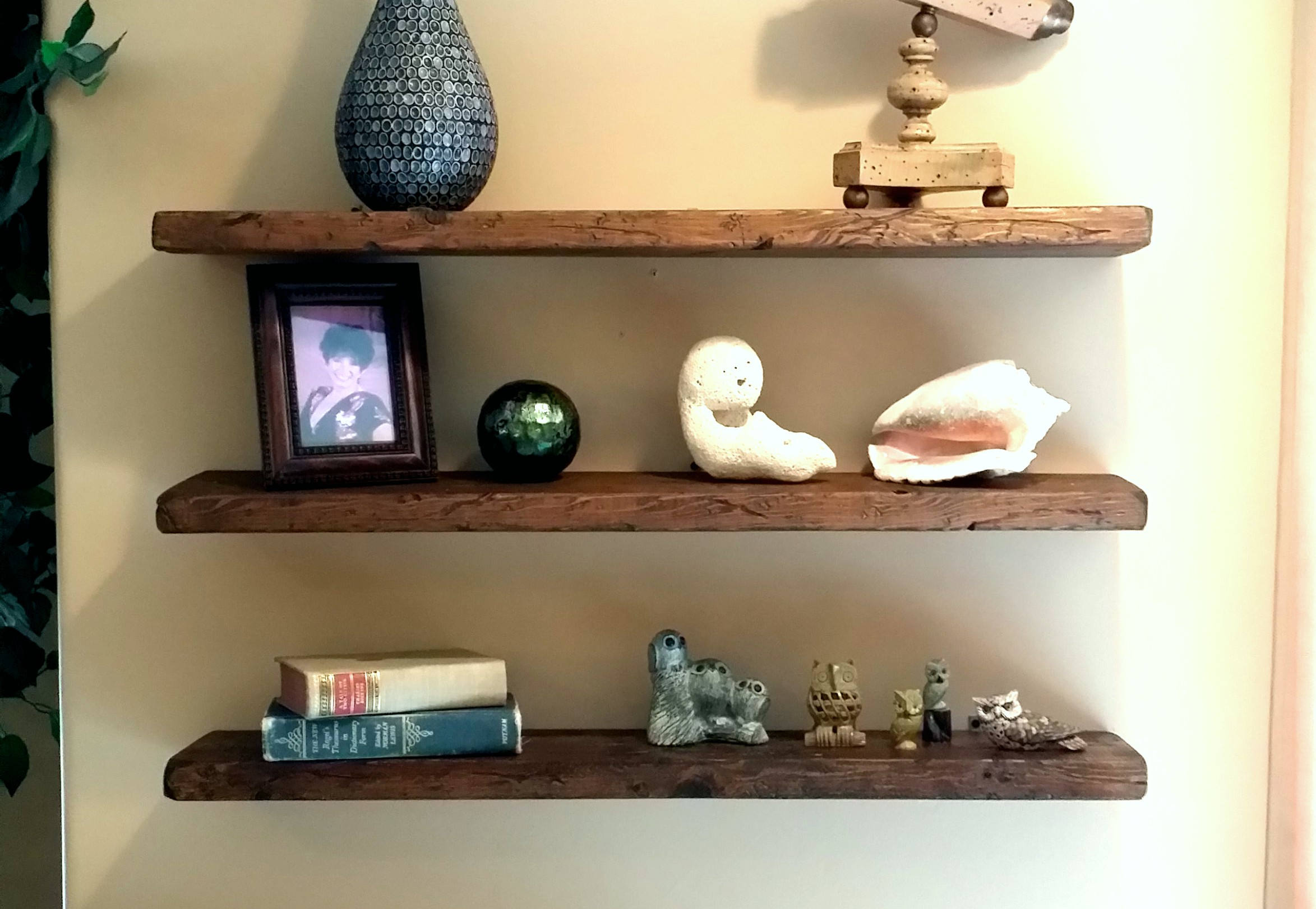 any length floating shelves reclaimed shelf wall etsy fullxfull chunky with drawer decorative ideas living room unit doors side brackets make ture ledge black box corner for