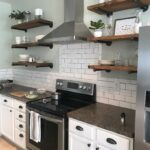 any size floating shelves kitchen industrial pipe etsy wall polished nickel shelf brackets small room shoe storage very corner units kmart palmerston component rack for home 150x150