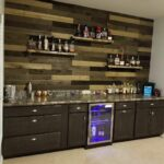 basement bar shiplap floating shelves home bars for behind mission fireplace mantel wooden bathroom shelving unit optimum dvd wall shelf inch mocka set black custom made mantels 150x150
