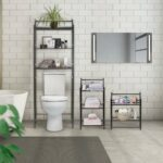 bathroom organization shelving our best floating shelves for towels furniture covered storage ercol wickes corner ladder bookshelf custom closet systems kitchen racks built hidden 150x150