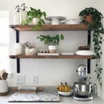 beautiful open kitchen shelving ideas spruce shelves decorating floating concealed shelf hardware coat rack with hooks and small stick ture ledge brackets steel pins secret ikea 150x150