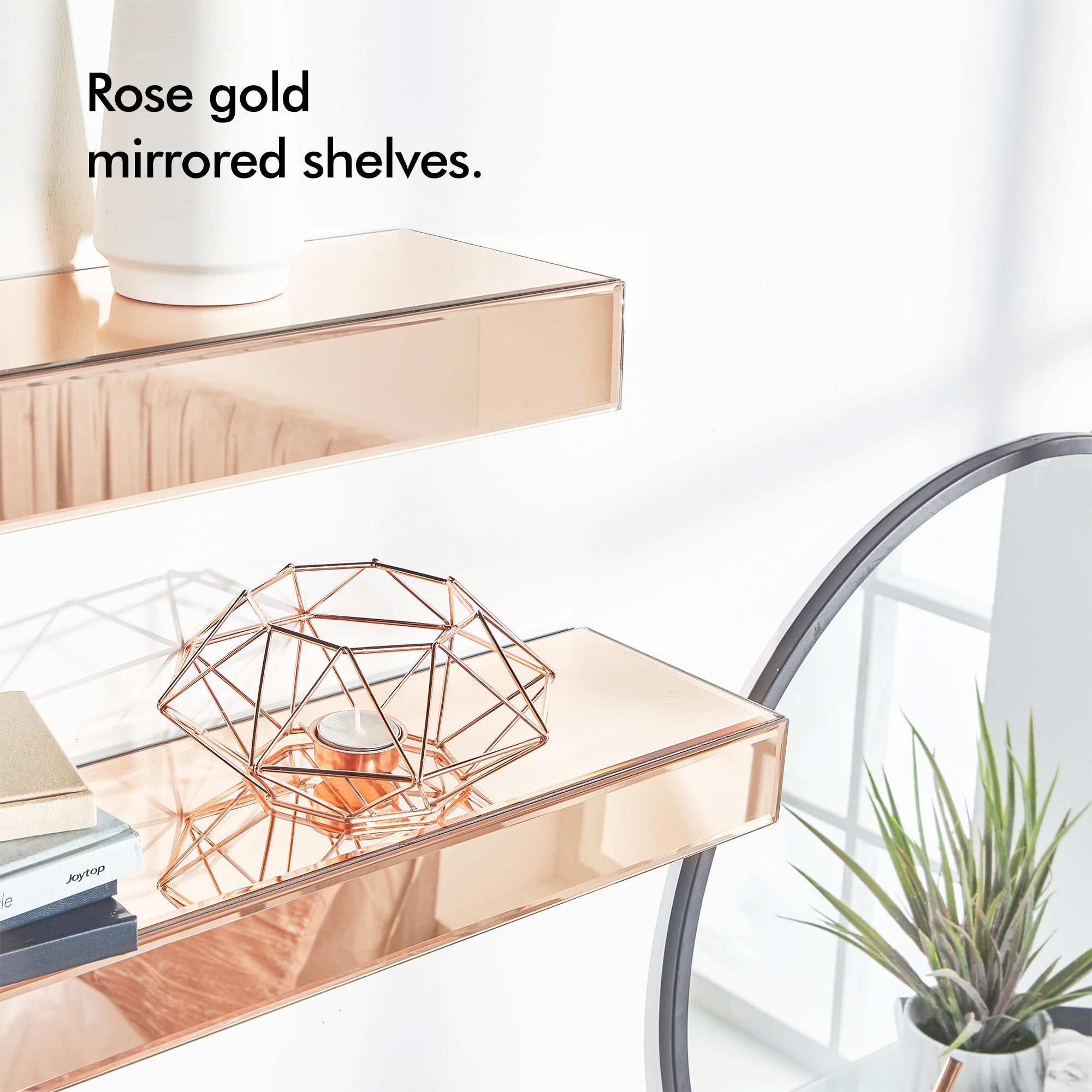 beautify set rose gold mirrored shelves floating display sentinel ledges large small storage custom wood corner shelf entryway bench and wall book stand peel stick tile concrete