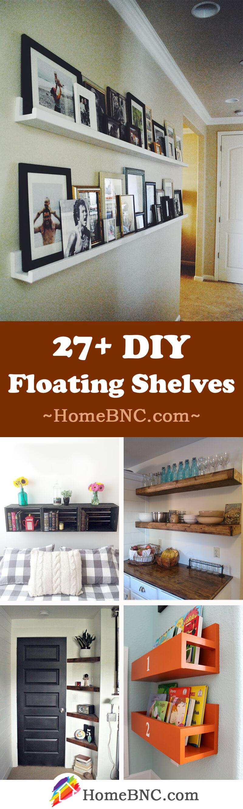 best diy floating shelf ideas and designs for share homebnc box shelves bold save space distance between closet wooden kitchen storage rack bookshelf alternatives barn wood target