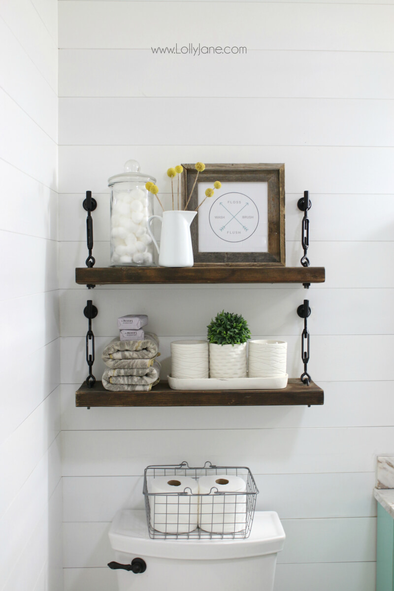 best hanging bathroom storage ideas for homebnc floating shelves small shelf over the toilet ikea wall mounted shoe home office built shoes drawer design open metal shelving unit