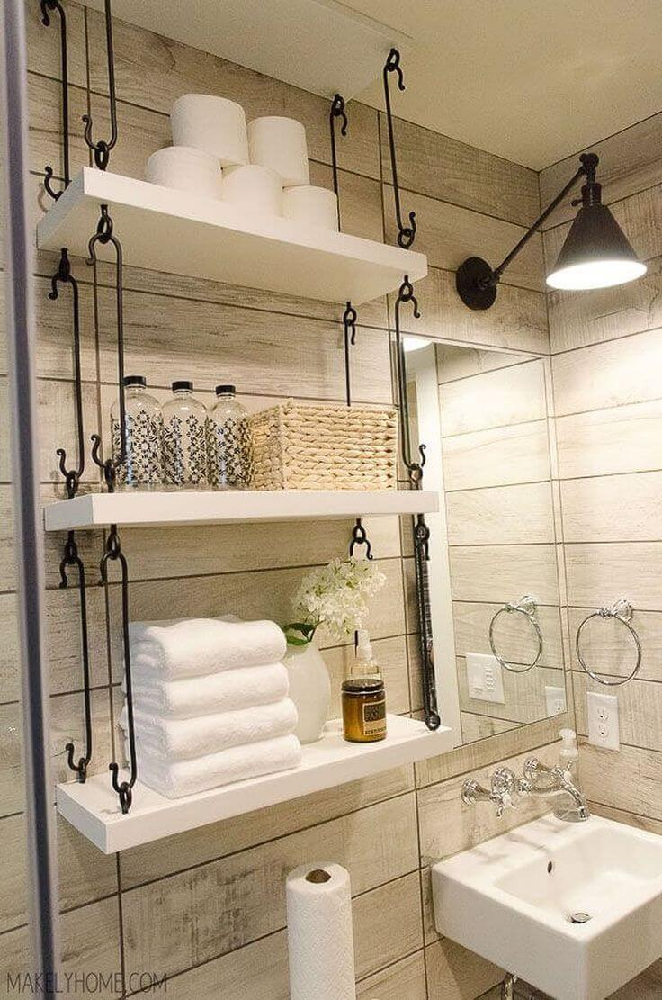 best over the toilet storage ideas and designs for homebnc floating shelves bathroom farmhouse hanging couch table ikea coffee garage work shelving besta bookshelf target glass