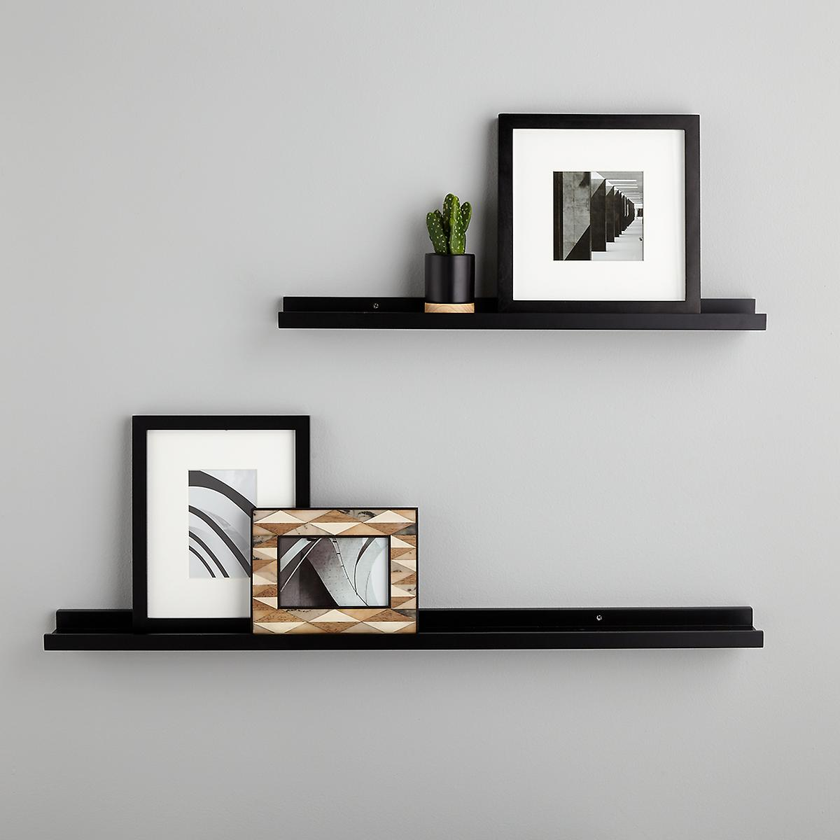black ledge wall shelves the container shelf ture floating diy pipe room essentials bookcase instructions kitchen storage and shelving small garage solutions for books pottery