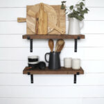black metal bracket shelves floating open shelving etsy fullxfull iron shelf brackets garage storage canadian tire custom made dish cabinet units cape town espresso solid wood 150x150