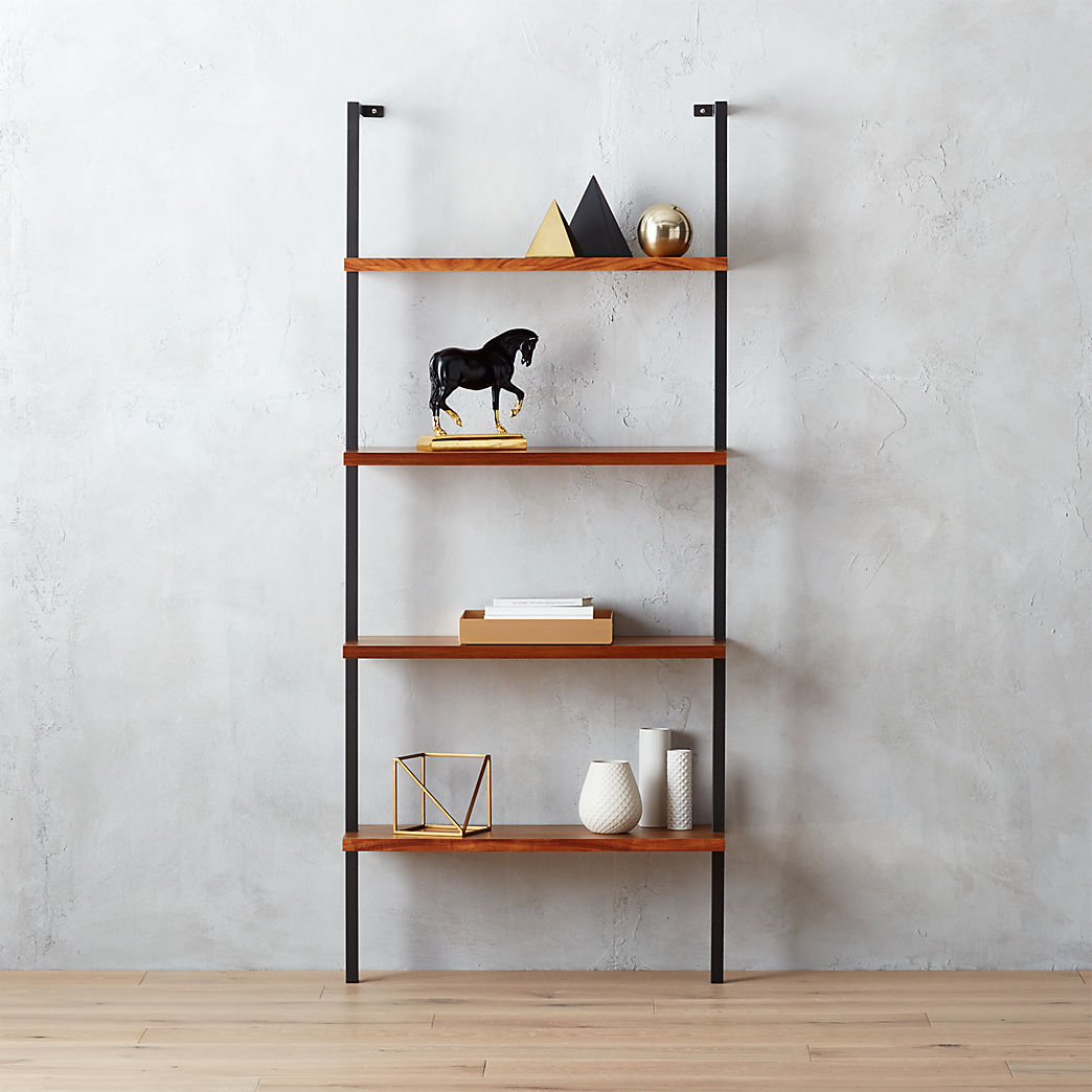 black wall shelves helix acacia bookcase floating bookshelf acrylic shelf ikea ektorp slipcover mounted corner desk wood with rustic barnwood steel brackets chest drawers cupboard