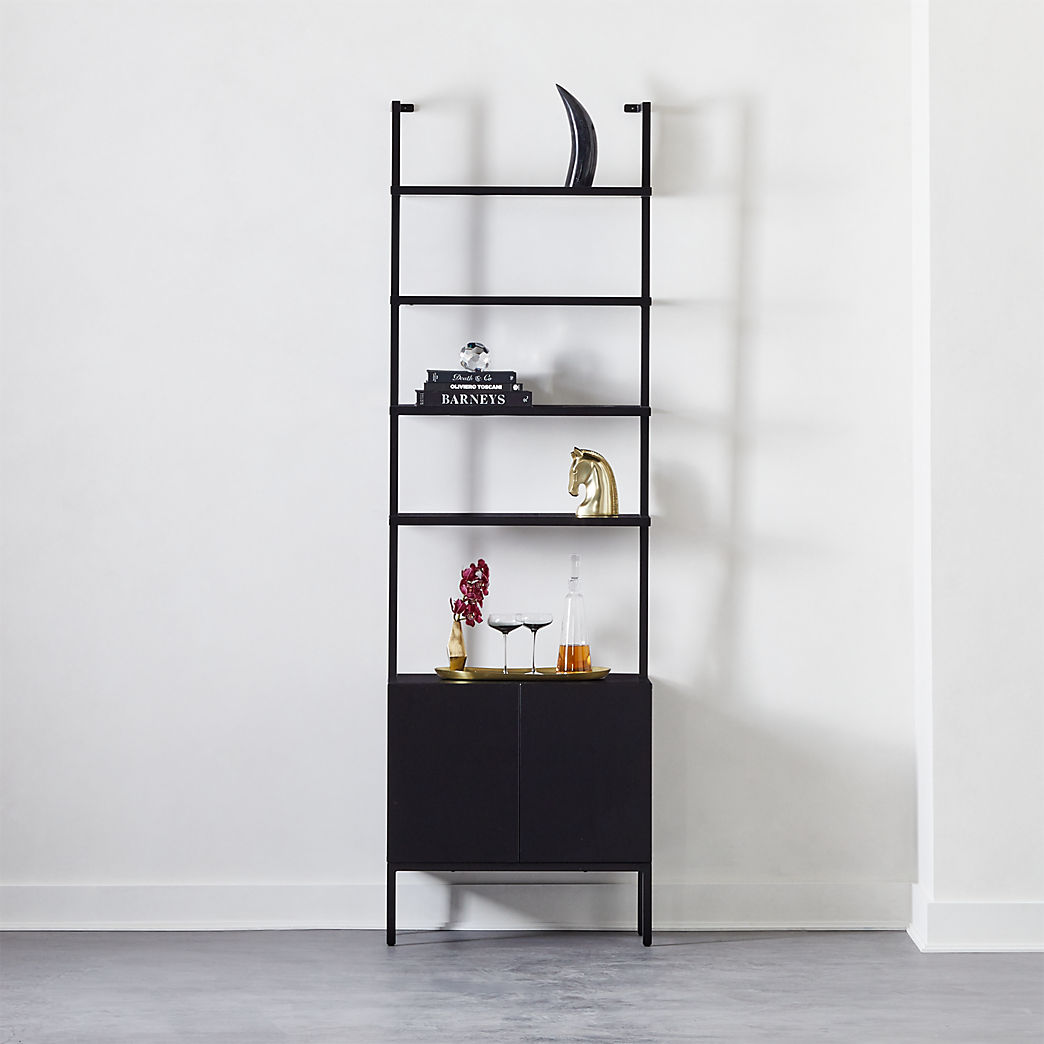 black wall shelves stairway cabinet floating bookshelf mounted corner desk big non drill ture hooks ikea ektorp slipcover metal rod shelf bracket tile edge trim screwfix chest