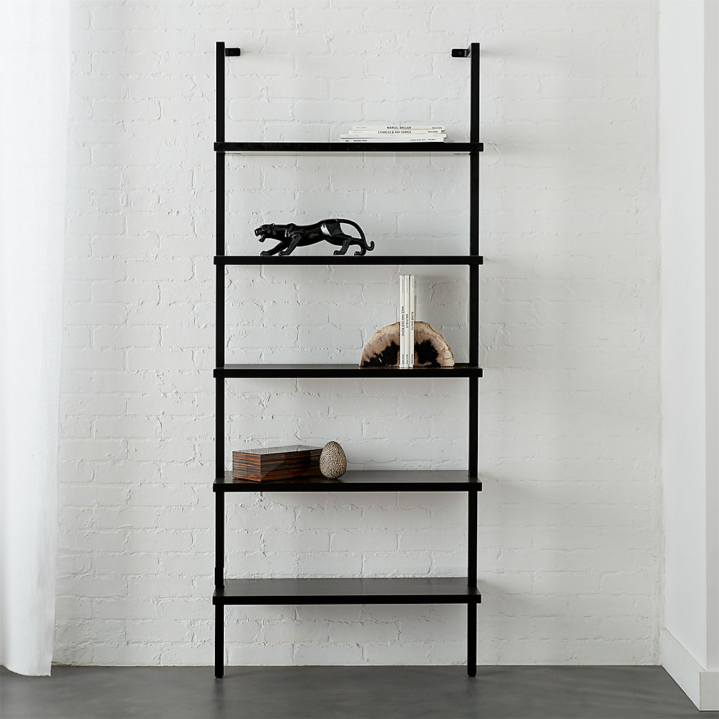 black wall shelves stairway mounted bookcase floating bookshelf wood with non drill ture hooks acrylic shelf small entrance hall ideas rustic mantel pieces garage storage racking
