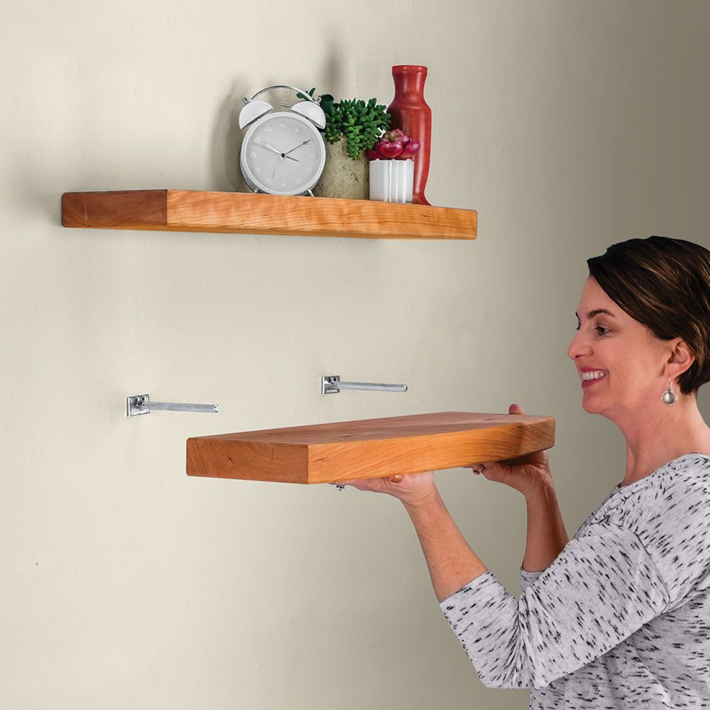 blind shelf supports pair rockler woodworking and hardware floating support pins tap expand shoe tidy rack best garage organization hanging tures shelves bins metal inch wood