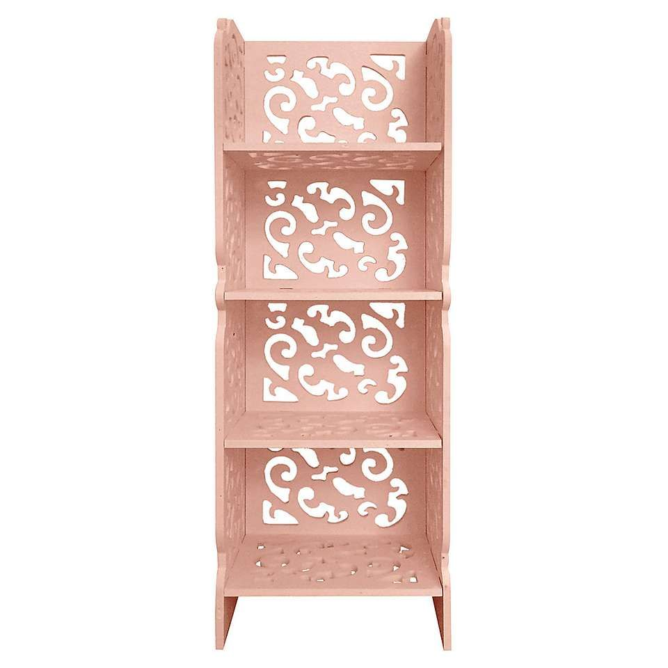 blush shelf unit dunelm soon shelves wall floating ikea kitchen console forged steel brackets rack garage storage system deep shelving wood narrow metal double sink bathroom