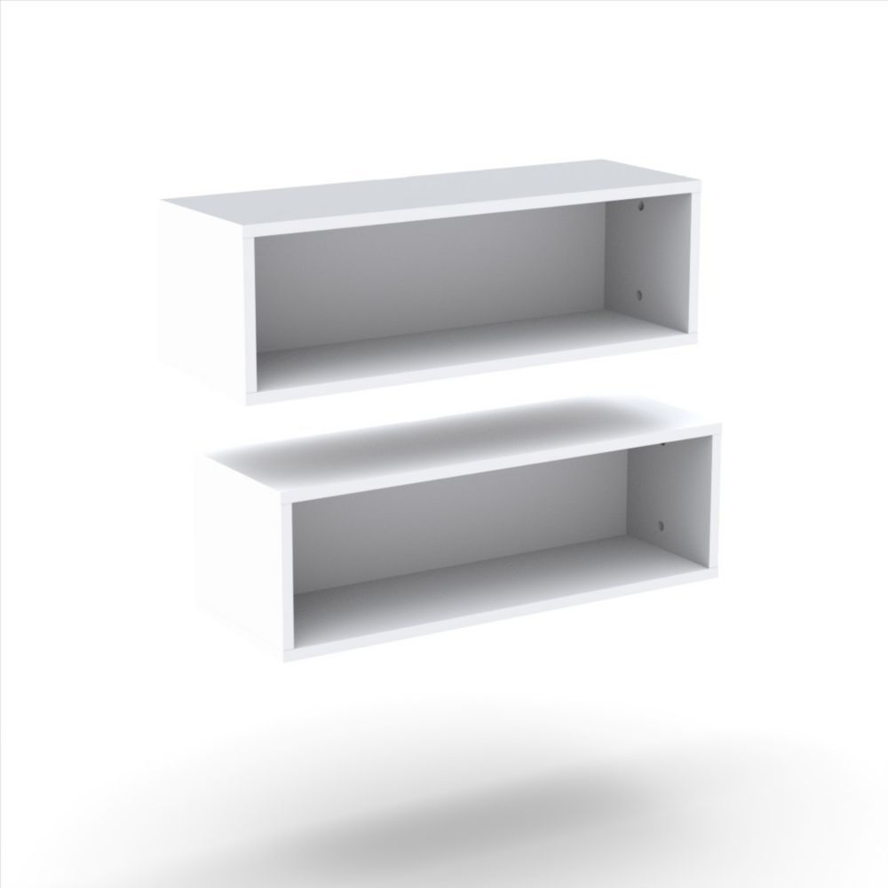 blvd inch rectangular floating wall white shelf shelves pack open kitchen unit small hanging mounted storage oak shelving units adelaide short island large glass corner countertop