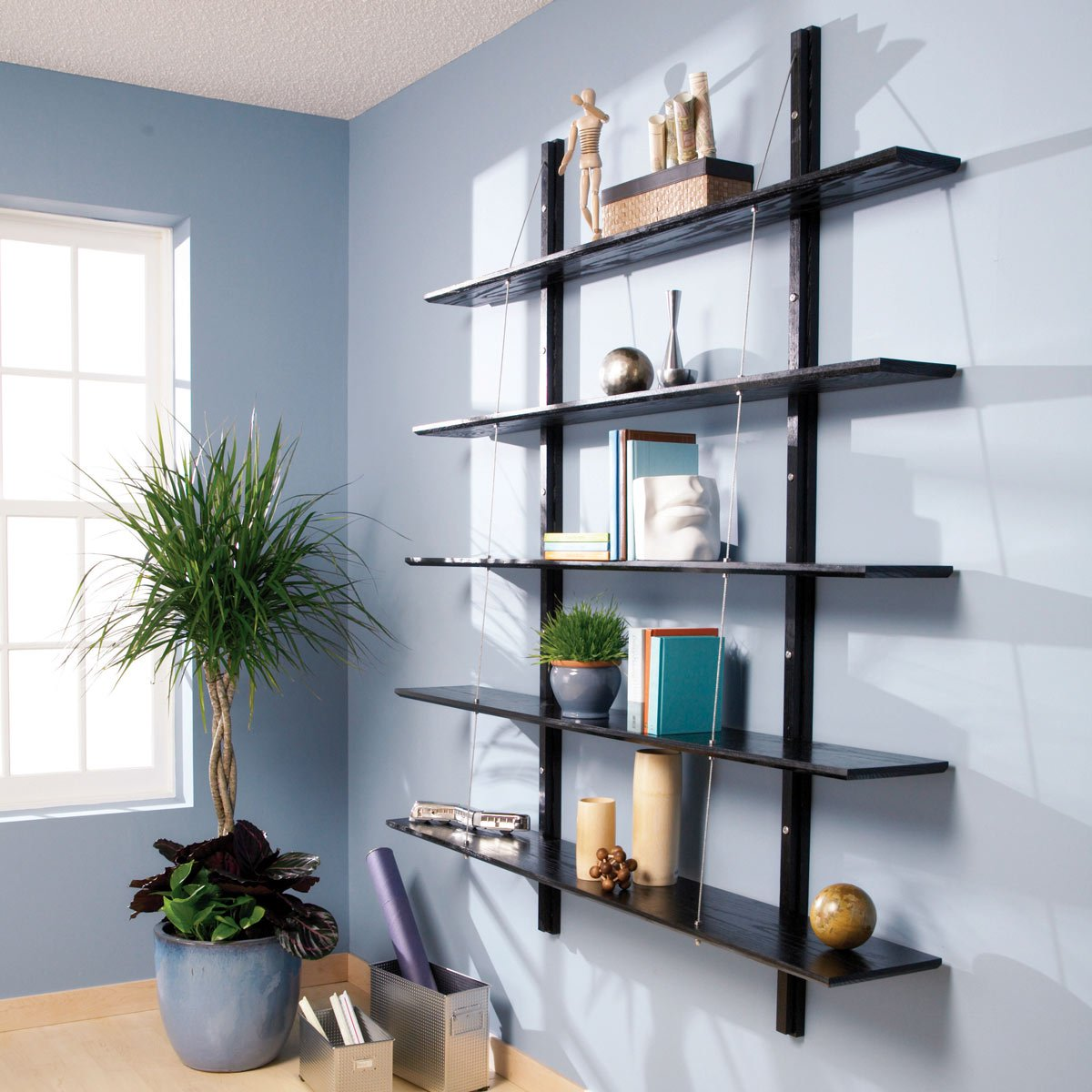 bookcase projects and building tips the family handyman modula joinery floating shelves suspended bookshelves wood shelf kits unfinished inch lee valley coat hooks fireplace beam