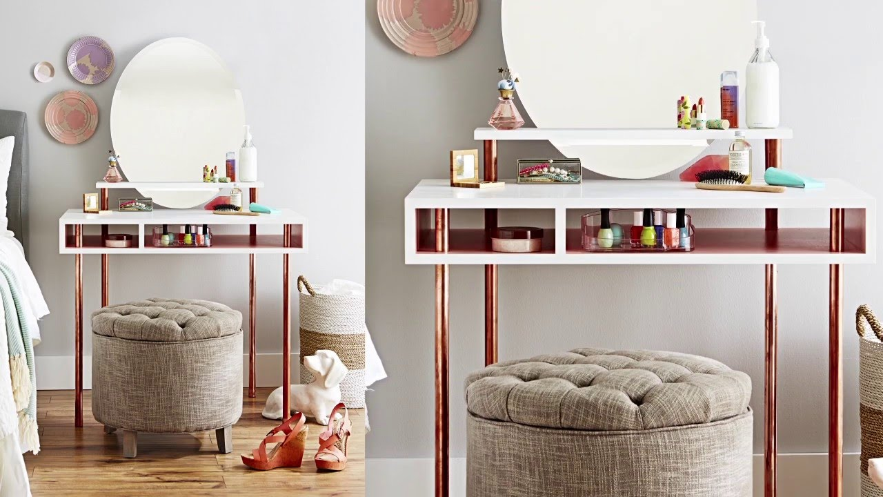 build copper leg dressing table floating shelf building shelves alcove dark wood corner bookcase industrial iron brackets kitchen design metal pipe wall and standing coat rack