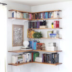 build organize corner shelving system beautiful mess floating wall shelf bracket mount computer desk with bookshelf ikea decor for ledges ematic video player shaped hanging stuff 150x150