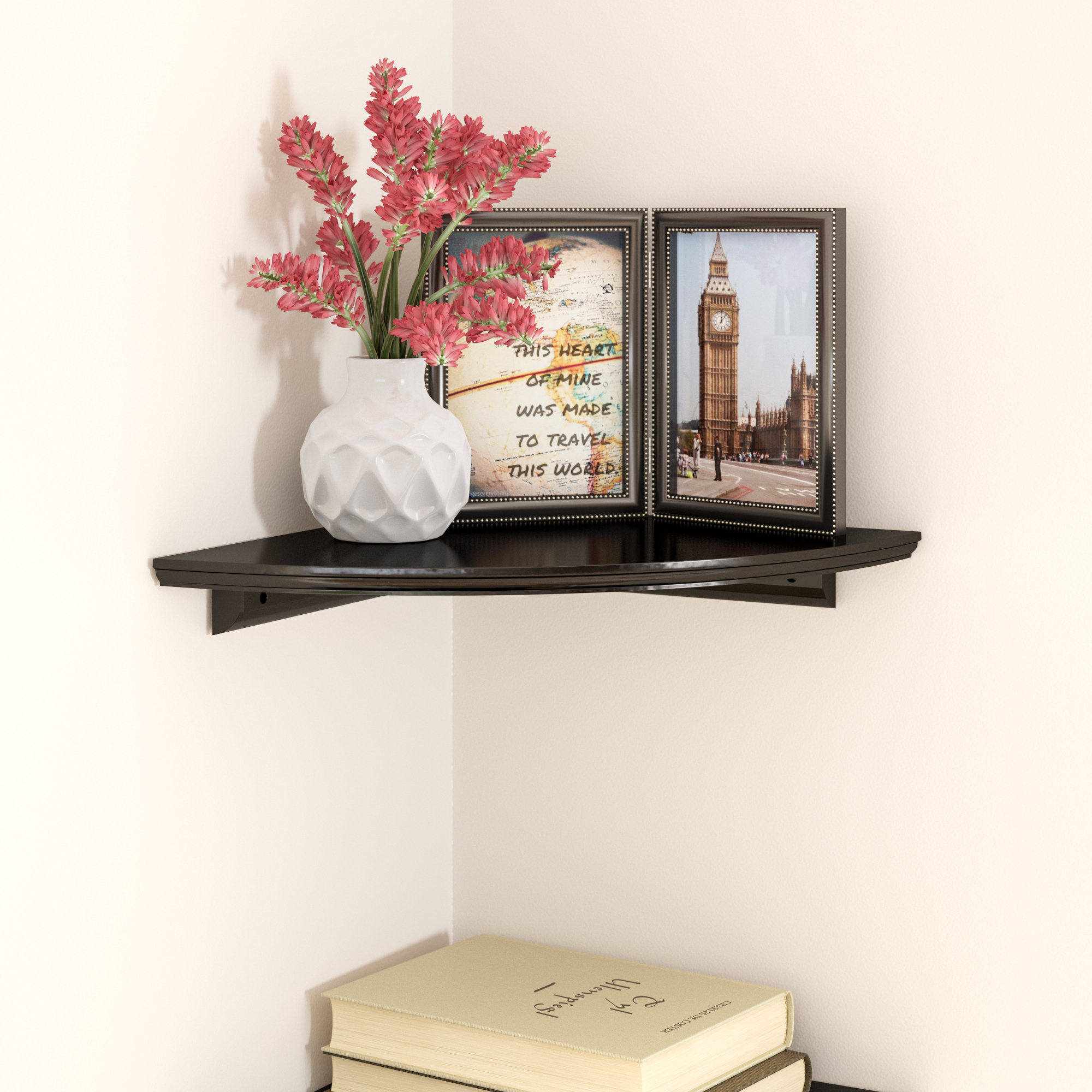 charlton home tremont floating corner shelf reviews chicago stud space cabinet ture hanging without drilling vonhaus mount building cleats open dish restoration hardware bookshelf