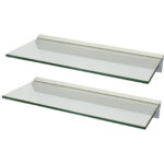 clear wall shelf pmpresssecretariat levv floating glass shelves hartleys pair bunnings shelving brackets oak rustic armstrong self stick vinyl tile installation key and coat 150x150