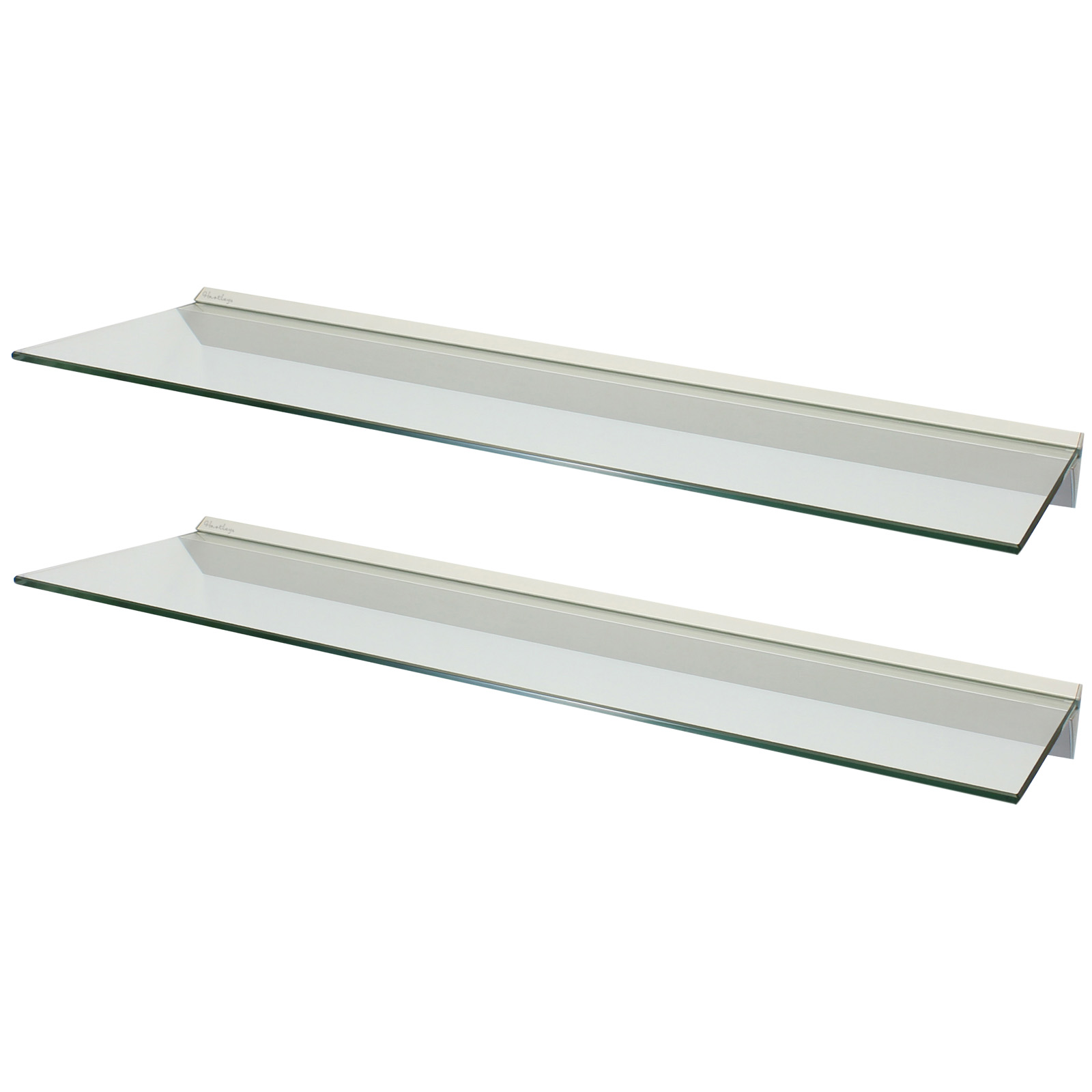 clear wall shelf pmpresssecretariat levv floating glass shelves hartleys pair greenhouse shelving homebase unfinished pine inch bathroom white chunky stick tile flooring