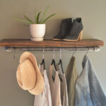 clothing display rack with floating shelf industrial retail etsy fullxfull exus shelves overhead garage storage design your own walk closet oak for fireplace kitchen open living 150x150
