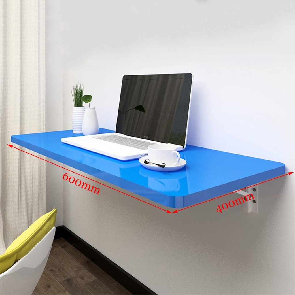 compact computer desk storage display shelving with evulfl floating shelf over table worktop folding dining blue wall study laptop workbench kitchen island open glass cabinets