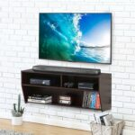 console cabinet wall mount media entertainment center floating glass shelves for fitueyes mountable shelf unit triangle bracket bookshelf display ideas bathroom under counter 150x150