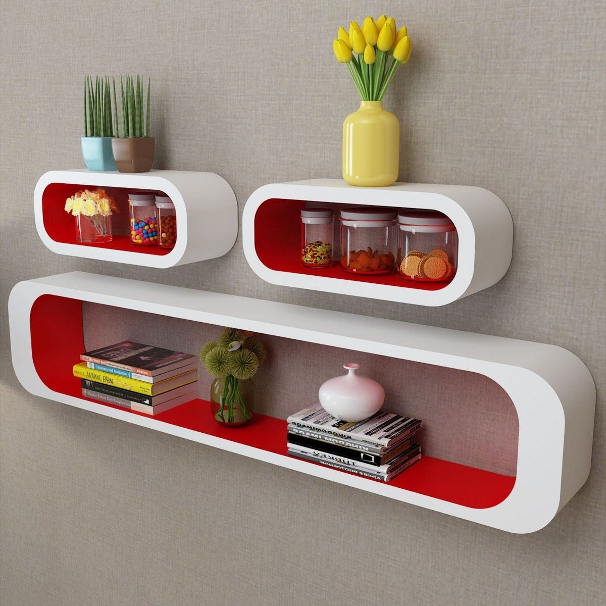 convenience boutique living room shelf floating wall display cubes shelves matte white and red cube ture glass storage small desk with drawers oak tall tiny smoked corner black