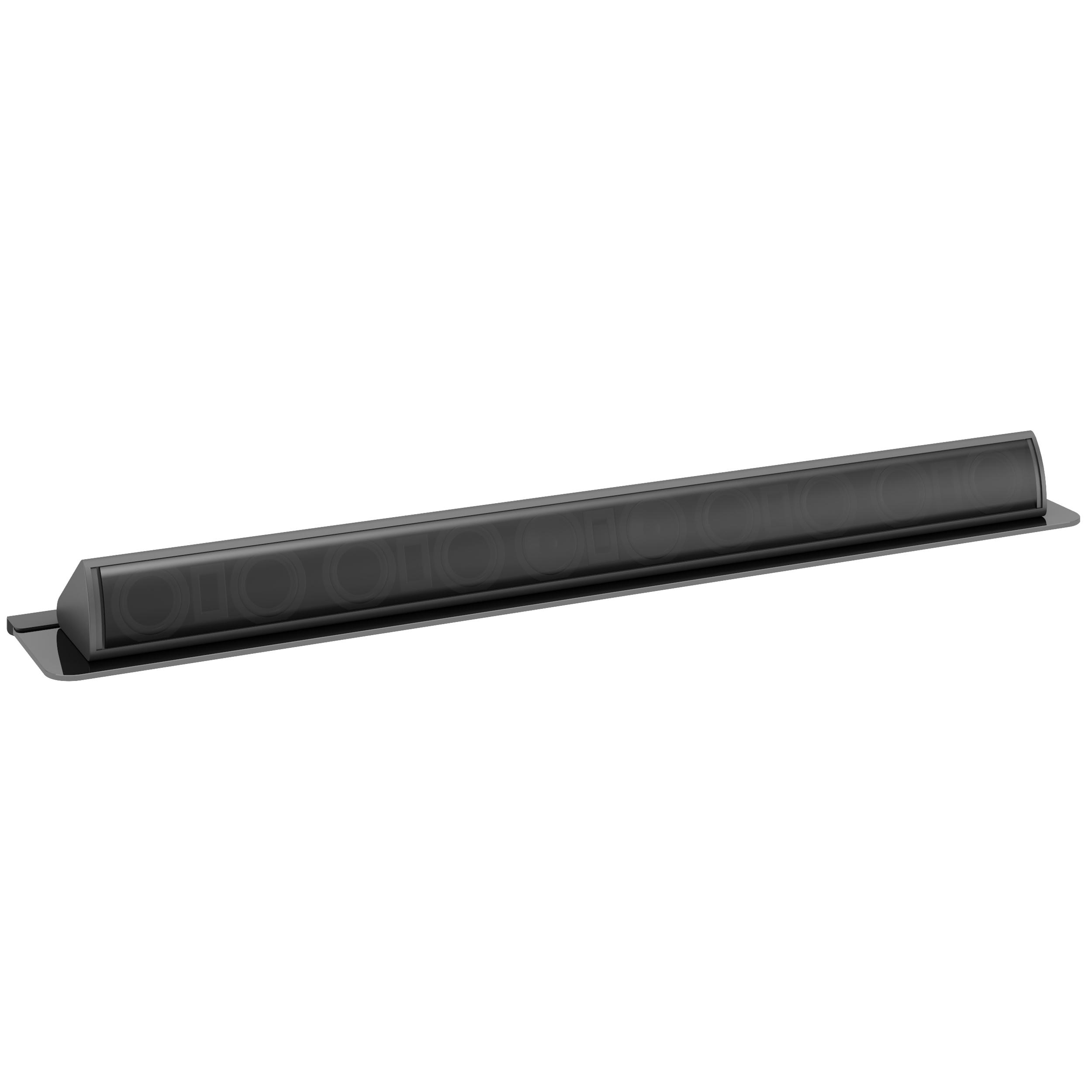 corliving mcs black tempered glass sound bar wall floating shelf for soundbar beautiful garage utility storage cabinets kitchen without upper tures media stand industrial metal