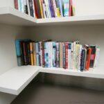 corner angled floating shelves custom carpentry library bookshelf glass refrigerator bookcase wood ikea shelf diy target instructions black shoe rack simple design vinyl tile 150x150