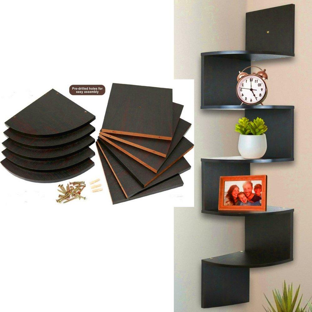 corner shelf liner tier wall mount decor wood espresso floating modern art decorative storage large shelves ebook ikea lack bookshelf dimensions component stand white computer