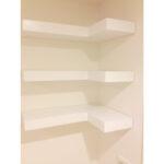 corner shelf shower ikea wall shelves black zigzag bookshelf floating mounted with drawer wooden architecture white set three woodguycustoms wood cabinet large unit argos units 150x150