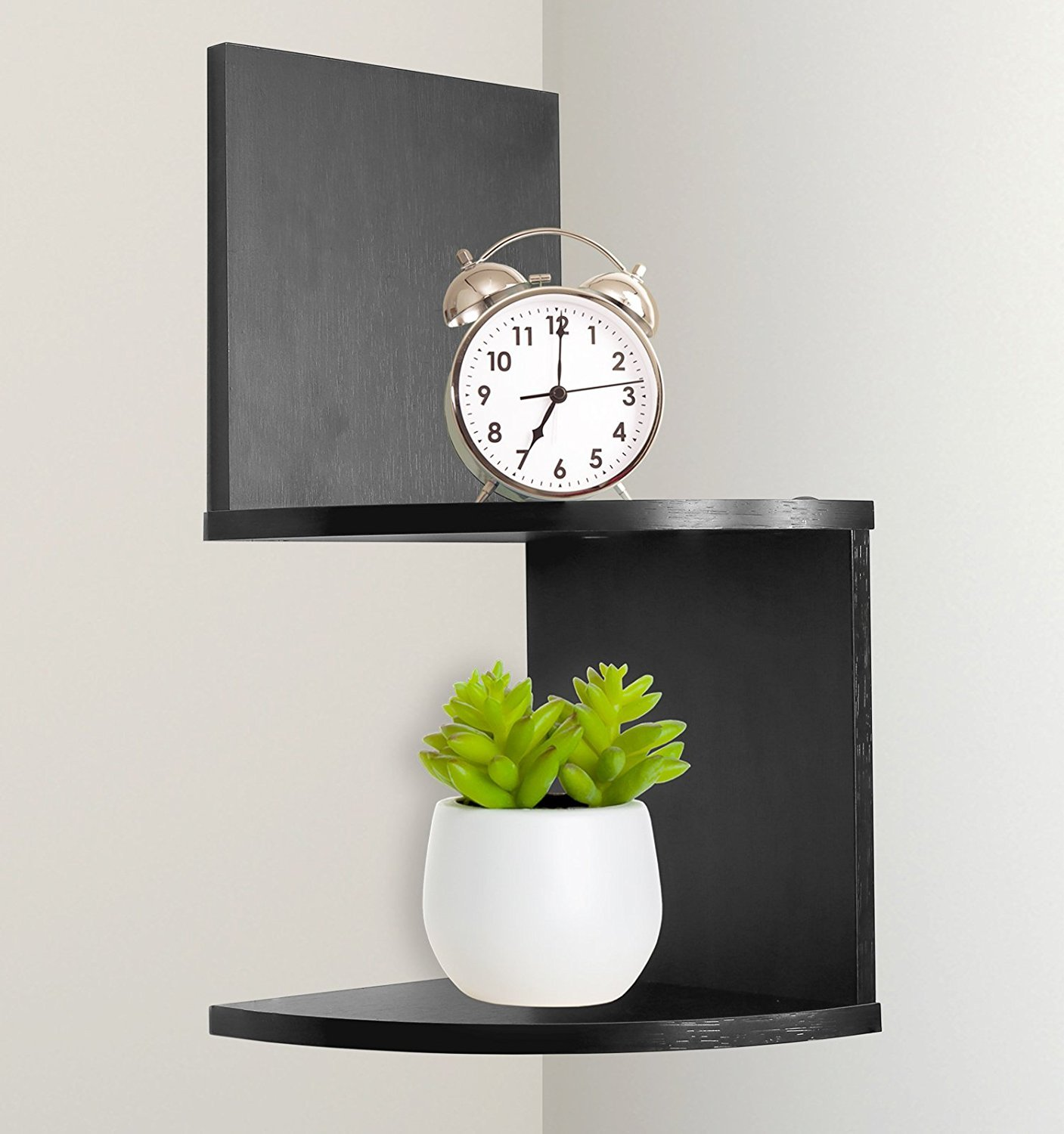 corner shelf wall mount home floating storage zig zag shelves espresso tier matte black bracket television stand inch concealed support screwfix coat shoe units rack unit work