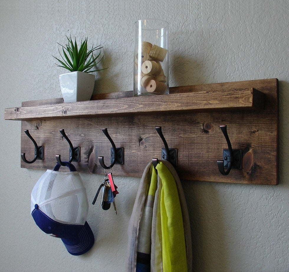 corvallis coat rack with floating shelf etsy fullxfull corner towel small open shelving unit build your own bookshelf barnwood bar desk office tall kitchen island table form dvd