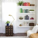creative diy floating shelves living room decorating decoration white cool ideas about closet depth spur shelving wickes shelf drooping stainless bookshelf small with lip open 150x150