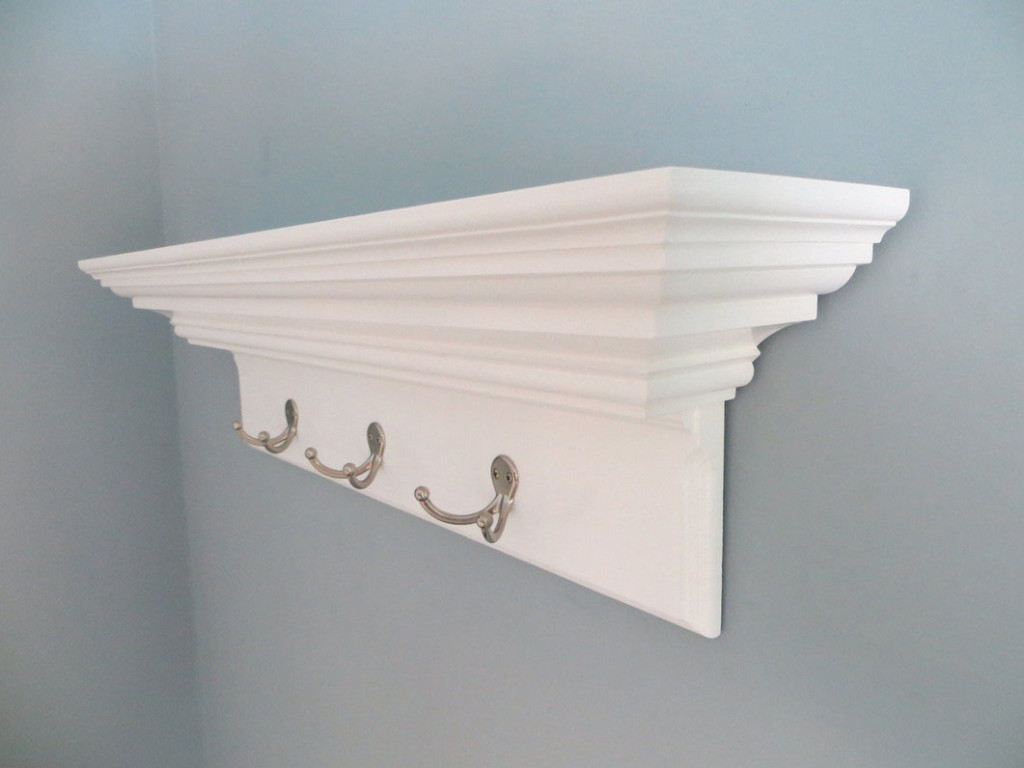 crown molding shelves ledge wall shelf diy easy floating plans over the kitchen sink ideas mantels and wardrobe organizer marble shower white corner desk book rack kmart oak wood
