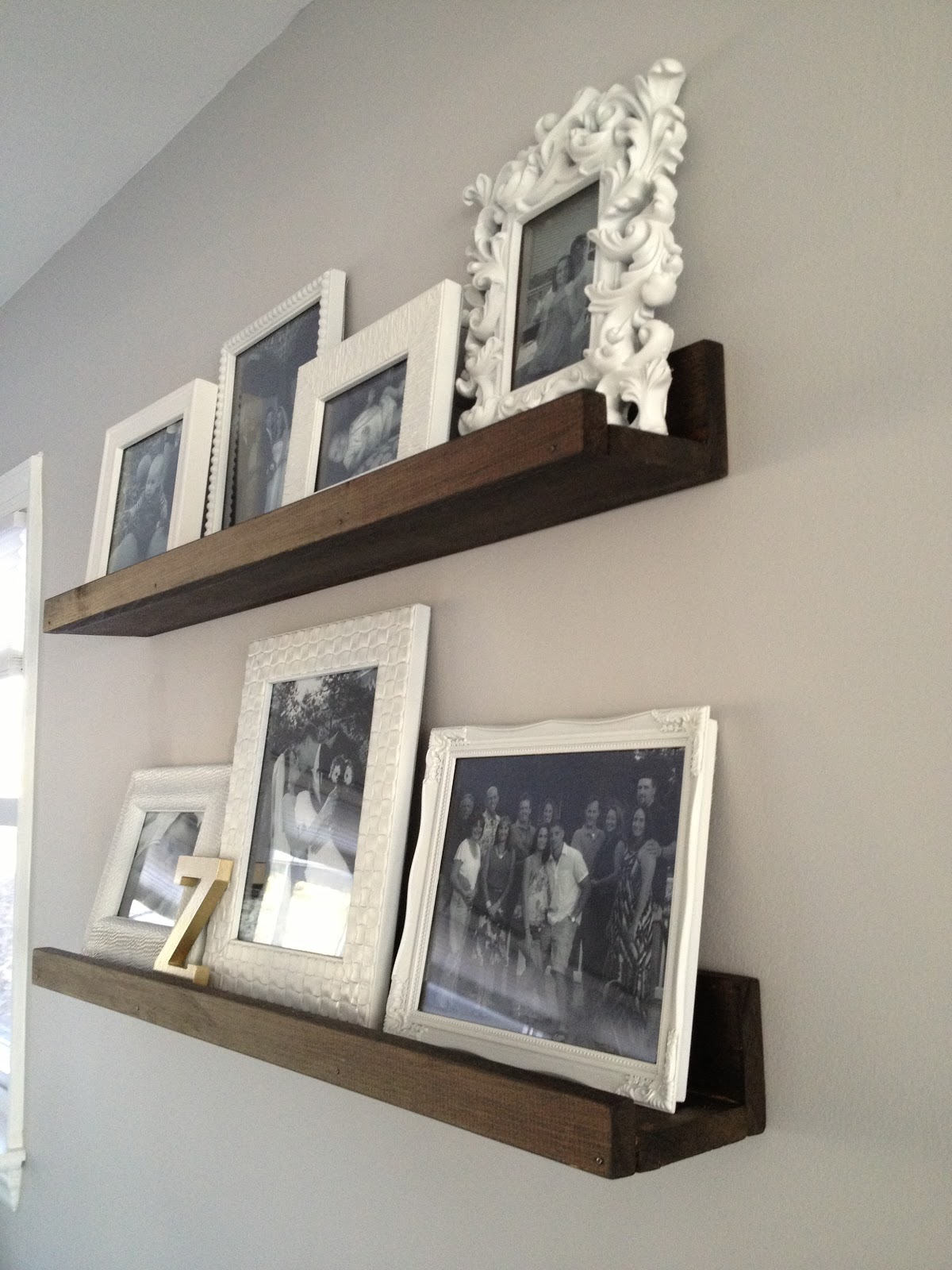 crown molding shelves shelf with hooks wood wall ledges rustic img reclaimed ture ledge pottery barn floating installation instructions hardware inch retro ranch reno diy