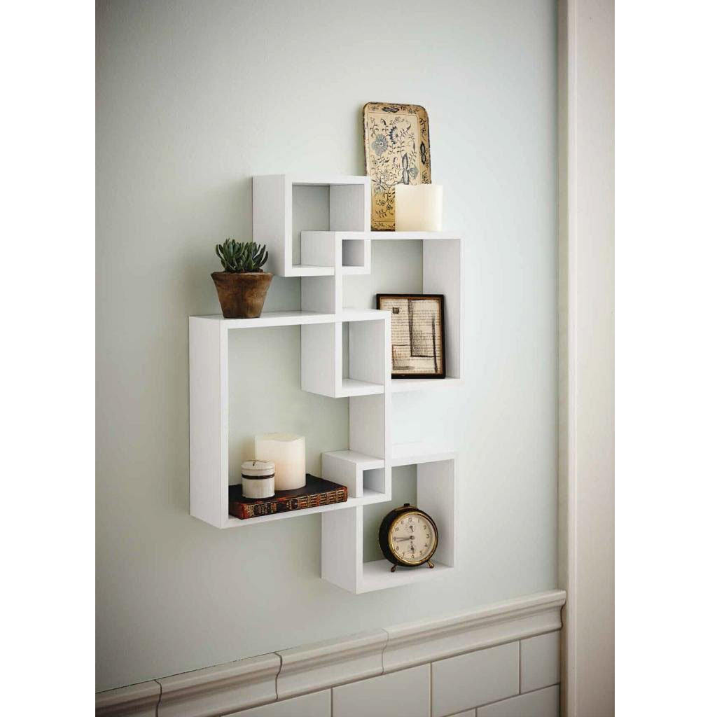 cube decorative floating wall mounted shelf display storage home mount shelves decor white rack ikea glass desk french cleat system for tools portable kitchen island with granite