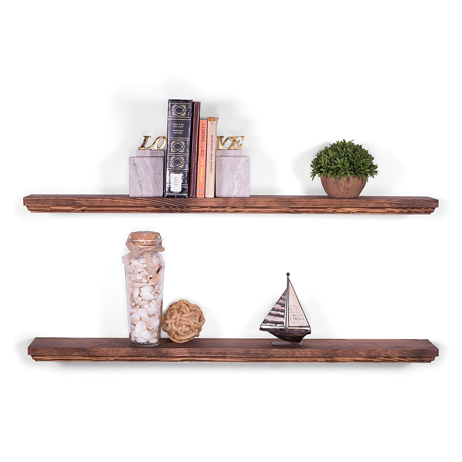 dakoda love deep routed edge floating shelves usa the shelf company reviews handmade clear coat finish countersunk hidden brackets beautiful grain pine solid oak cube shelving
