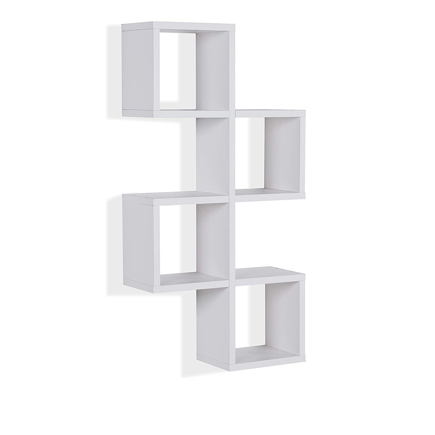 danya decorative floating wall mount cube shelf chessboard shelves white home kitchen metal ture ledge small desk with drawers sky matte black triangle smoked glass corner