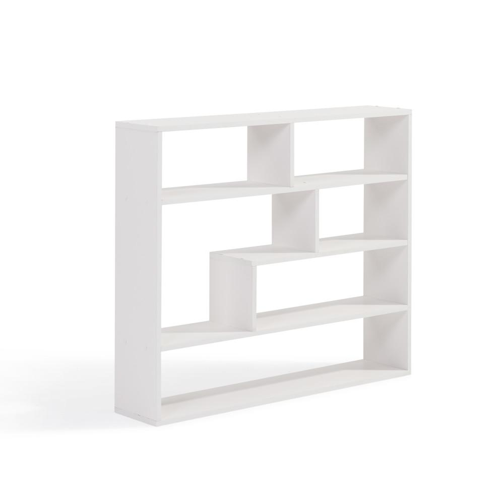 danya white laminated rectangular floating wall decorative shelving accessories shelf the rustic corner bookshelf heavy duty industrial brackets kmart table and chairs granite