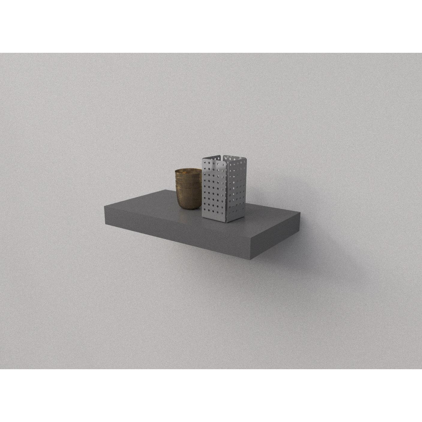 dark grey floating shelf kit mastershelf stone part with drawer storage tree bench small metal rack couch table ikea dvd player and sky box shelving kmart porirua peel stick wall