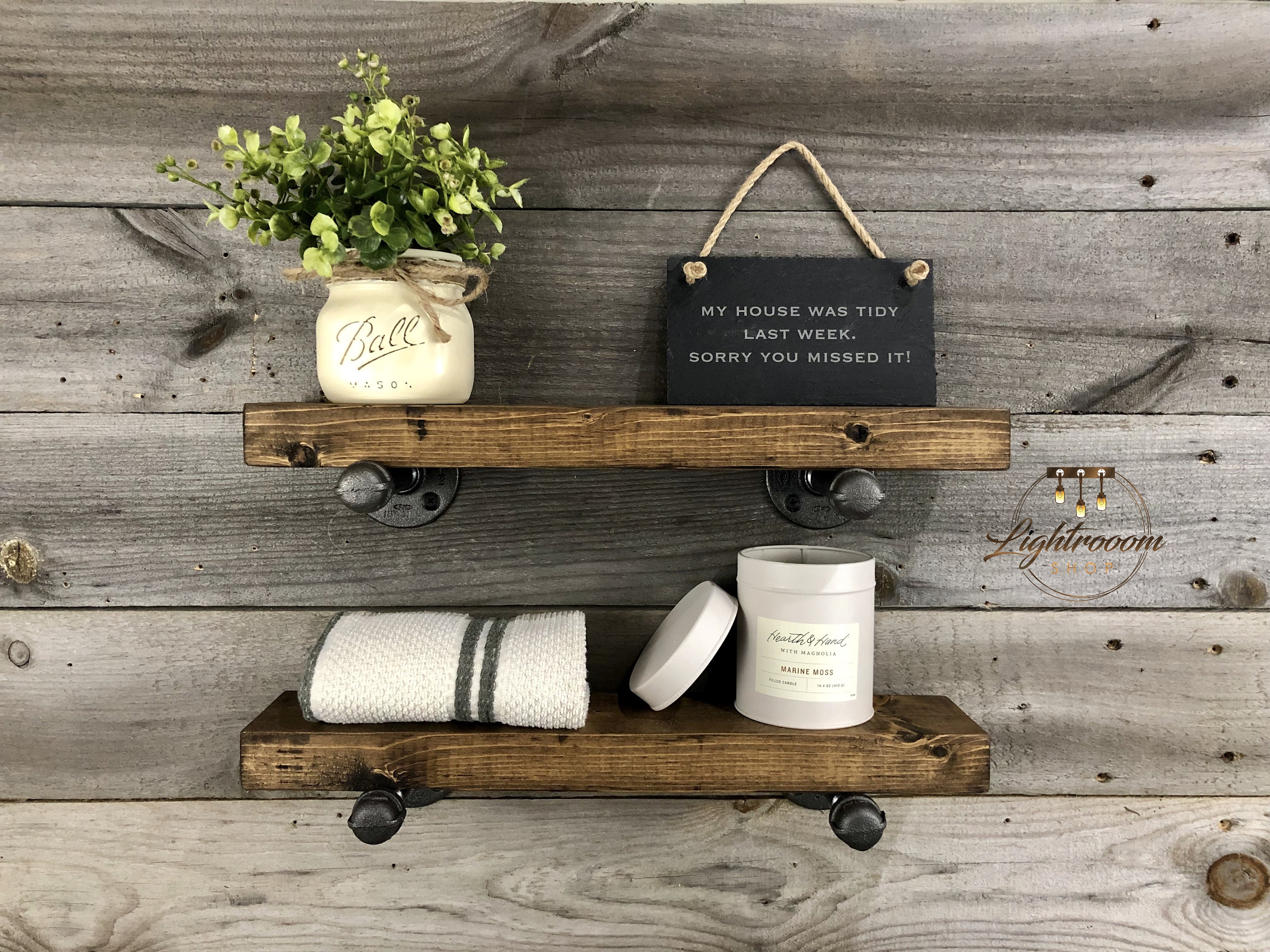 dark walnut deep thick floating shelves wall etsy fullxfull wood metal shelving laying vinyl sheet flooring over existing little bathroom ideas wooden fire mantle build your own