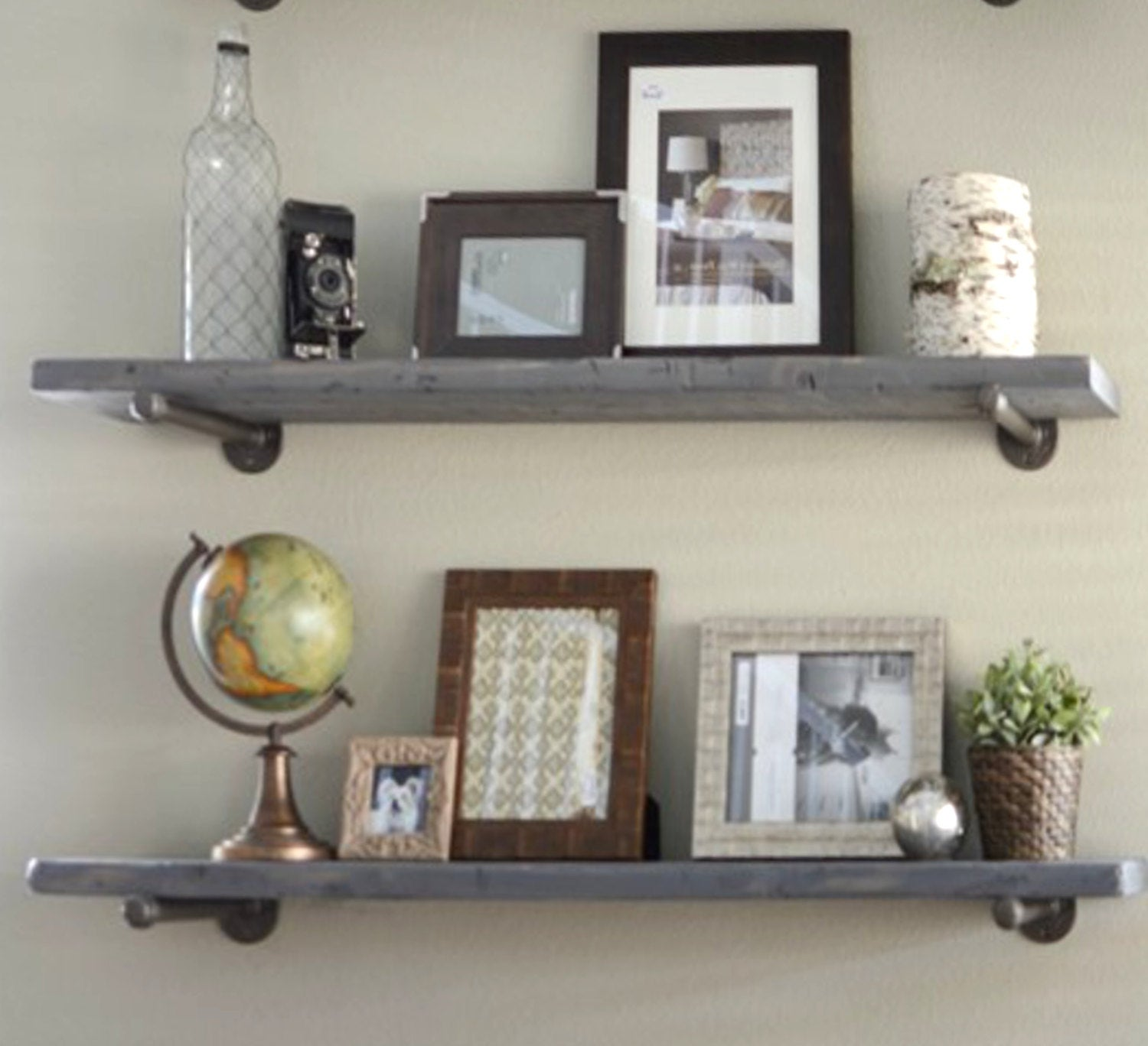 depth industrial gray wash floating shelf graywash etsy fullxfull lanb rustic shelves hafele sliding door hardware red and black living room decorating ideas kitchen garage
